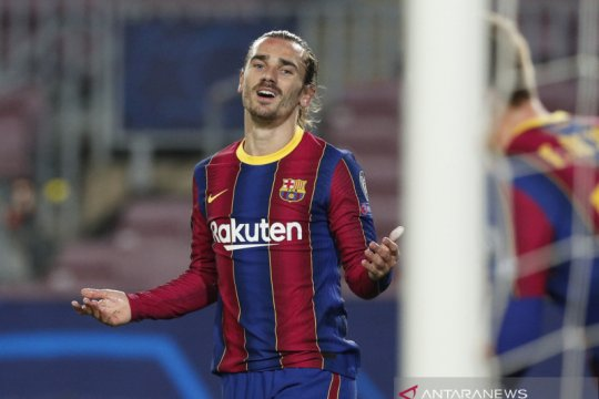 Eks bek Barcelona sebut Antoine Griezmann telah salah pilih klub