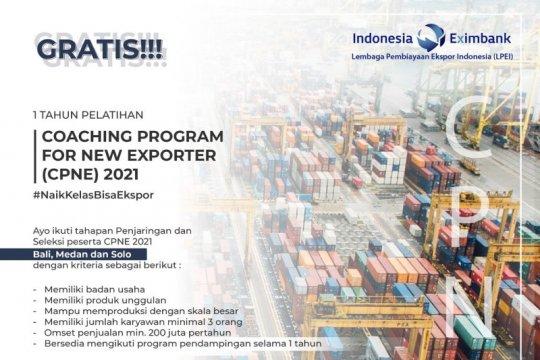 Kembali buka pelatihan UMKM, LPEI siap cetak eksportir baru 2021