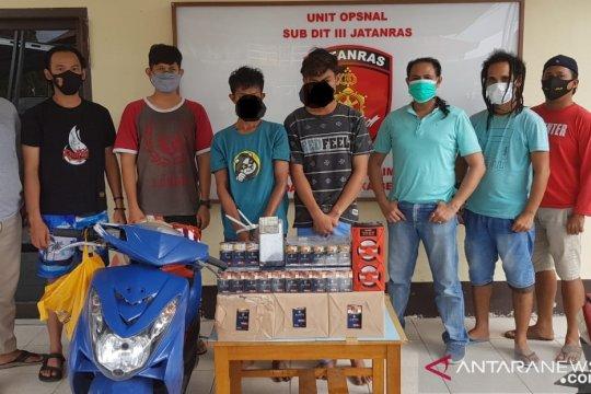 Tim Opsnal Subdit III Dit Reskrimum Polda Babel berhasil ungkap kasus Curat di Pangkalpinang