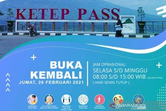 Ketep Pass kembali buka setelah ada rekomendasi BPPTKG