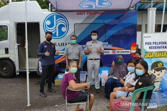 Bayar pajak di Samsat Setempoh dan Samling bisa cek kesehatan gratis dari Jasa Raharja