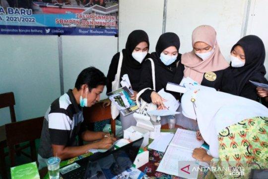Pendaftar calon mahasiswa UBB jalur SNMPTN meningkat 125 persen