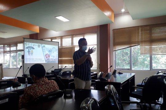 Satgas COVID-19 Bangka Barat gencarkan sosialisasi vaksin aman