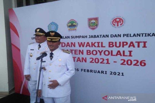 Said-Irawan pimpin Boyolali teruskan estafet kepemimpinan Seno