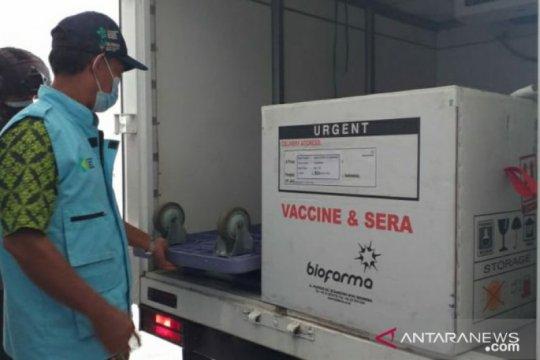 210 vial vaksin sinovac tahap kedua tiba di Belitung