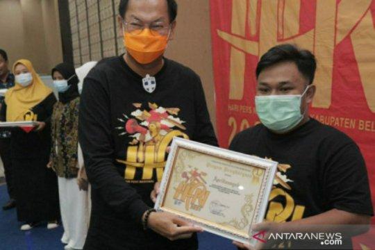 Jurnalis ANTARA Babel raih juara pertama lomba karya jurnalistik