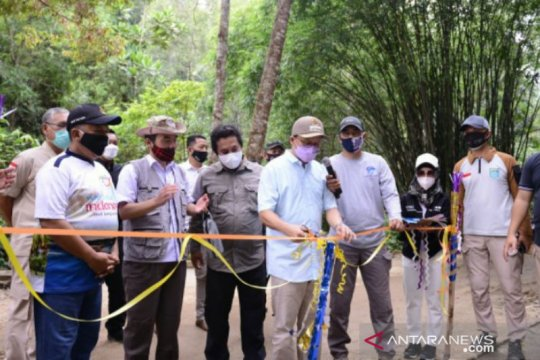 Dorong pengembangan pariwisata, PT Timah bangun sarpras di Gunung Mangkol