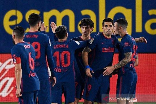 Atletico Madrid menjaga jarak aman di puncak klasemen Liga Spanyol