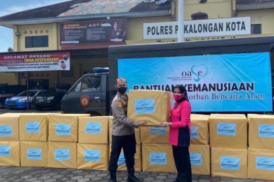 Polres Pekalongan Kota salurkan bantuan OESE KIM untuk korban banjir
