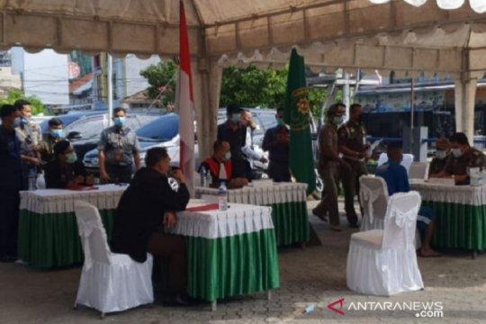 PN Pangkalpinang jatuhi sanksi puluhan pelanggar prokes COVID-19