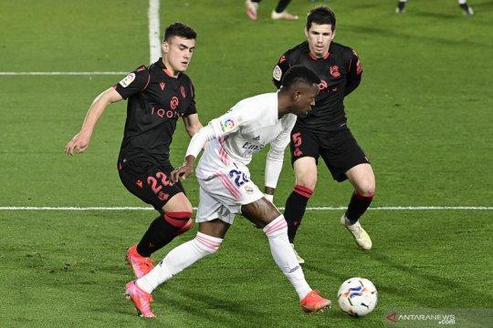 Madrid diimbangi Sociedad 1-1
