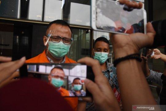 Tersangka Edhy Prabowo bantah menyalahgunakan kunjungan daring Rutan KPK