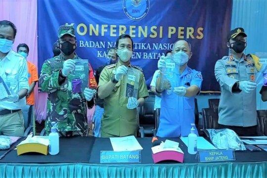 BNNP Jateng ungkap sindikat pengedar tembakau gorila