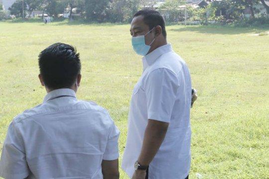 Beberapa lapangan olahraga di Semarang jadi area resapan air