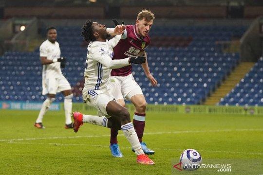 Leicester ditahan imbang Burnley 1-1