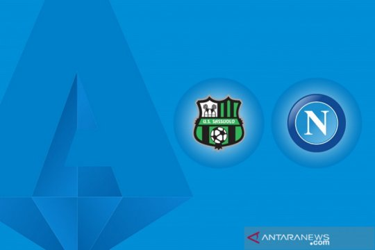 Drama 6 gol, Napoli  bermain imbang 3-3 atas Sassuolo
