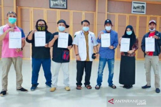 1.003 petugas sektor pelayanan publik dapat vaksinasi COVID-19