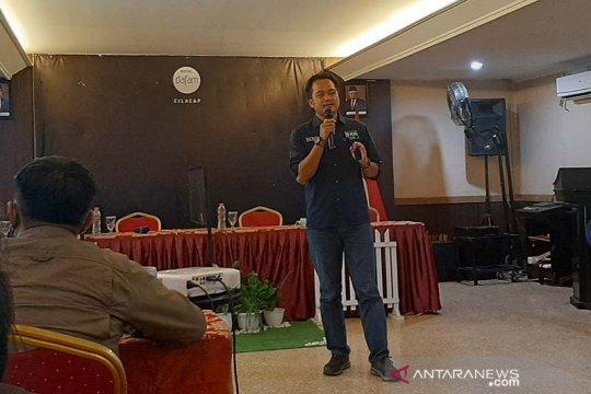 BNNK Cilacap gandeng wartawan sosialisasikan pemberantasan narkoba