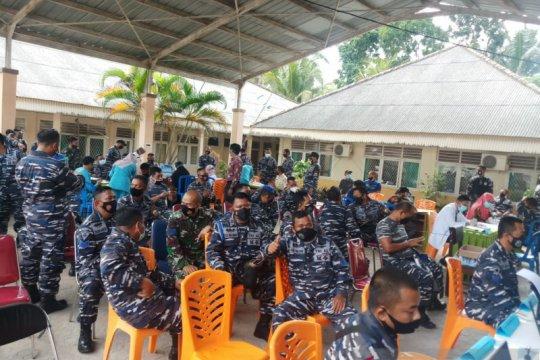 Vaksinasi COVID-19 tahap dua di Bangka capai 850 orang
