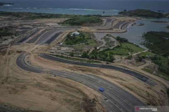 Pembangunan lintasan sirkuit Mandalika International Street Circuit