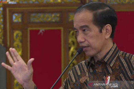 Presiden Jokowi ajak kader MKGR untuk produktif selama pandemi
