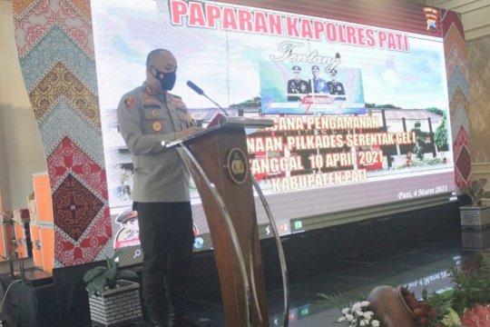 1.603 personel untuk amankan Pilkades Pati