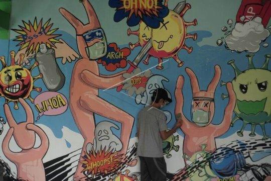 Mural tema COVID-19