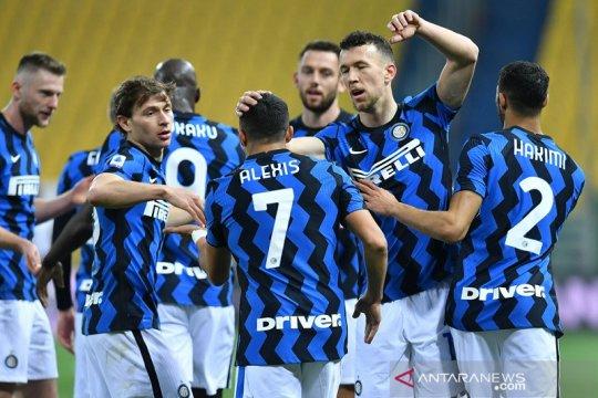 Hasil dan klasemen Liga Italia: Inter kokoh di puncak unggul enam poin
