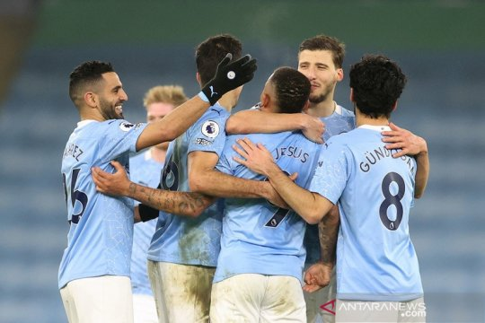 Hasil dan klasemen Liga Inggris: City kian kokoh di puncak