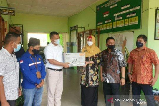 Wabup Bangka Selatan terima bantuan bidang lingkungan dari PT Timah