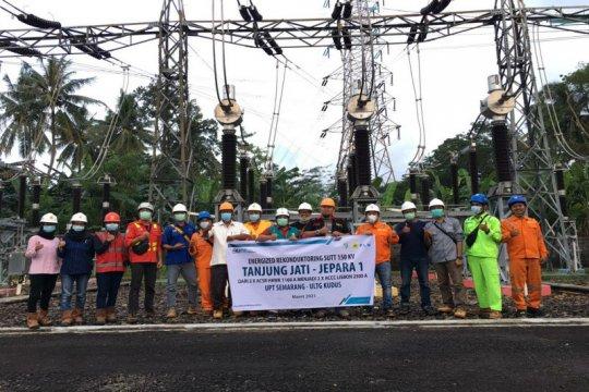 PLN lakukan energize pada SUTT Tanjung Jati Jepara I