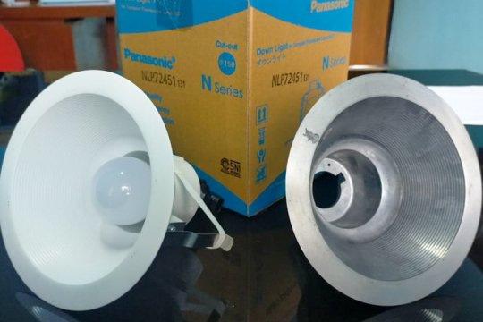 UPT Logam Yogyakarta kewalahan penuhi ekspor fitting lampu downlight