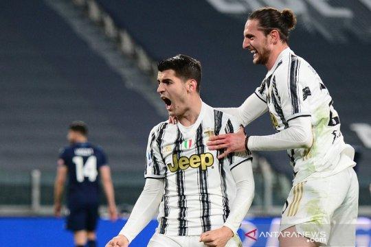 Juventus kejar ketertinggalan dari puncak setelah tundukkan Lazio 3-1
