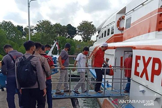 12 napi Tanjung Pandan dipindahkan ke lapas di pulau Bangka