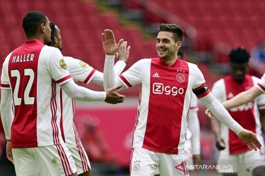 Hasil dan klasemen pekan ke-25 Liga Belanda