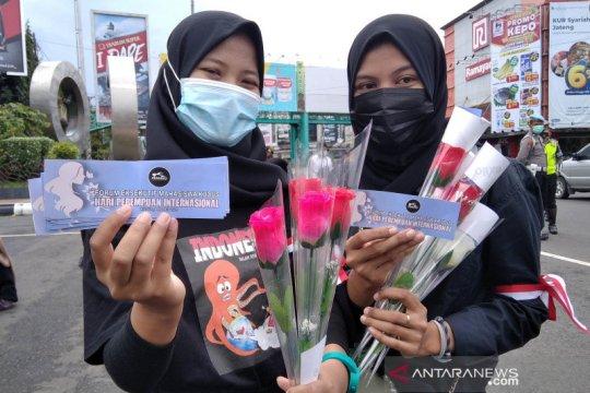Mahasiswa Kudus tuntut pengesahan RUU PKS di Hari Perempuan