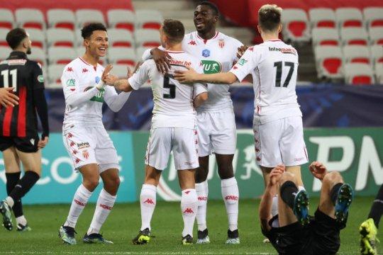 Monaco maju ke 16 besar Piala Prancis