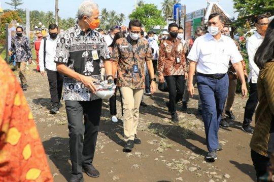 Ganjar minta izin jadi mandor pengembangan Borobudur