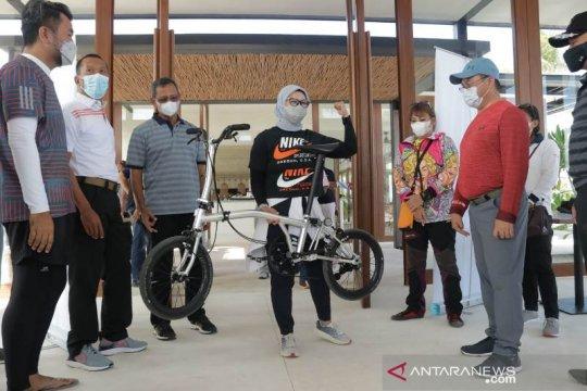 Tour de Babel : Tanda Lahirnya Sepeda Lipat 'Billiton' Karya Anak Negeri