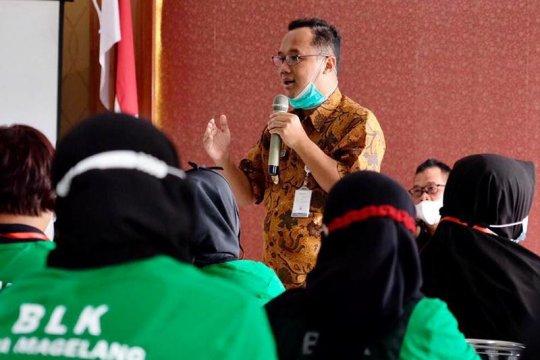 Wali Kota Magelang dorong peserta pelatihan BLK inovatif pasarkan produk