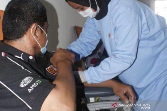 50 penyandang disabilitas ikut gelar donor darah Dinsos Babel