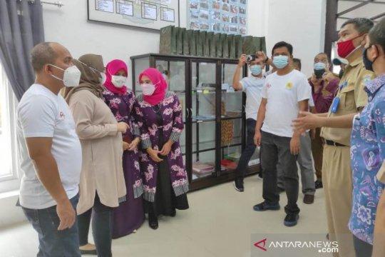Walikota Pangkalpinang resmikan gedung TP PKK Kelurahan Masjid Jamik