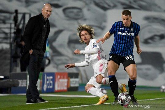 Real Madrid mengalahkan Atalanta 3-1