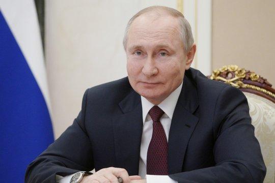 Presiden Rusia mengaku mengalami sedikit efek samping usai divaksin COVID-19
