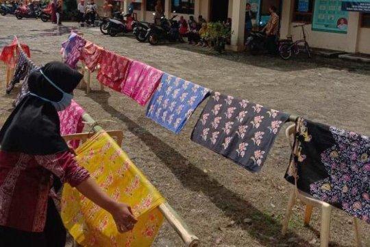 Desa Pekiringan Purbalingga miliki  potensi batik tulis