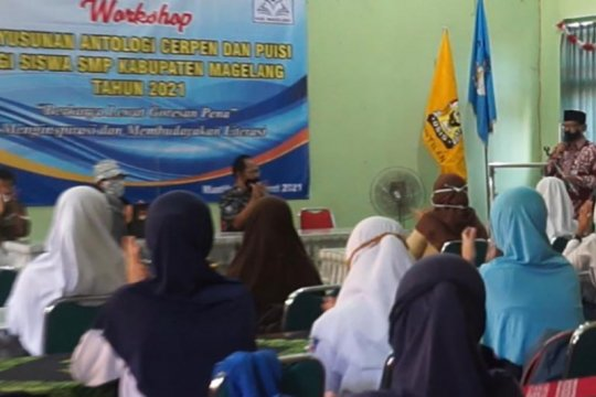 Garasi Kabupaten Magelang adakan lokakarya antologi puisi-cerpen