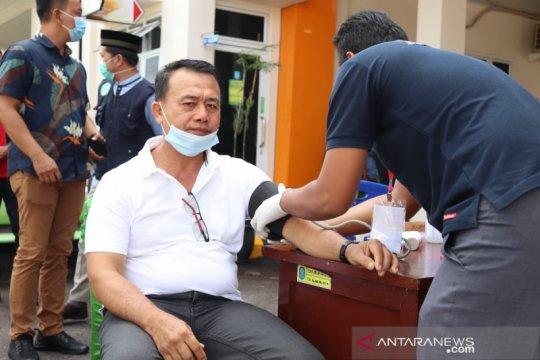 Wakil Bupati Bangka apresiasi gerakan donor darah bersama