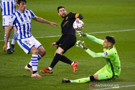 Barcelona pesta gol 6-1