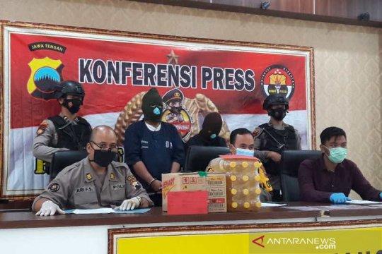 Polres Temanggung tahan dua penipu pembelian sembako