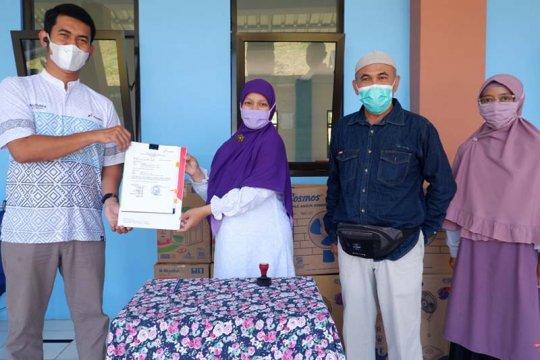 Pertamina Cilacap serahkan bantuan sarana-prasarana untuk SMP IT Buah Hati